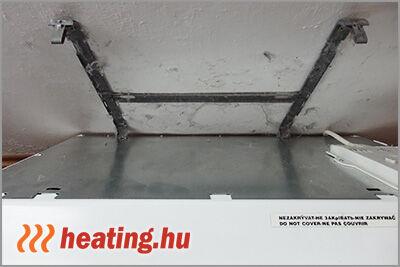 A fűtési szezonban rengeteg por lerakódhat az elektromos radiátor körül.