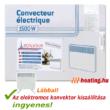 A Bonjour 2 1500 W-os hordozható elektromos konvektor kiszállítása ingyenes.
