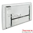 A 2000 W-os Thermor Evidence 3 HD elektromos radiátor villásdugóval és falit tartókerettel kerül forgalomba.