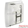 A Thermor Evidnece 3 HD 500 W-os elektromos radiátor alaptartozéka a fali szerelőkeret és a villásdugó.