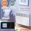 Thermor Evidence 3 HD elektromos radiátor digitális vezérléssel, napi időzítéssel és akár 25% energia megtakarítással.