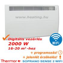 Soprano Sense 2 WiFi HD elektromos fűtőpanel 2000 W
