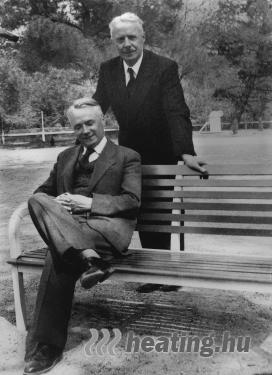 A Thermor elektromos fűtés márkát alapító testvérpár: Germain és Etienne Maure