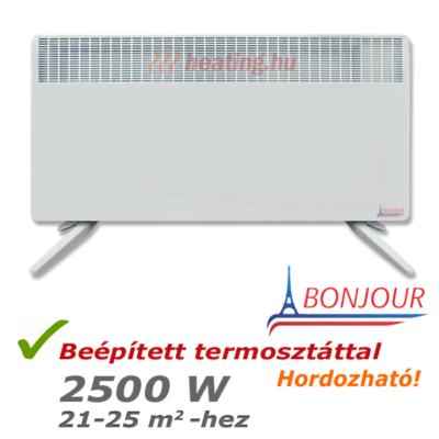 Bonjour 2 hordozható villanyradiátor 2500 W