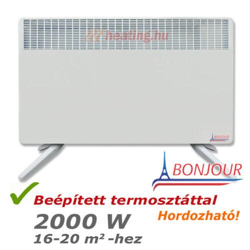Bonjour 2 mobil villanyradiátor 2000 W teljesítménnyel.