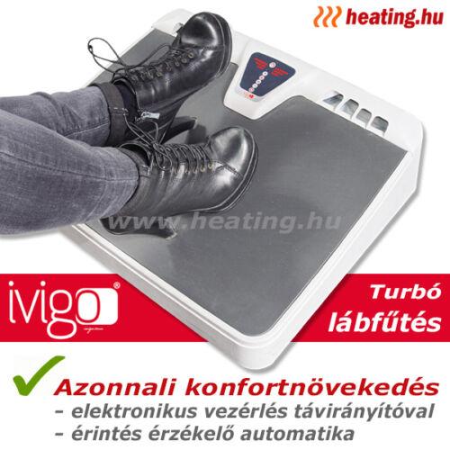 Elektromos turbó lábfűtés íróasztal alá.