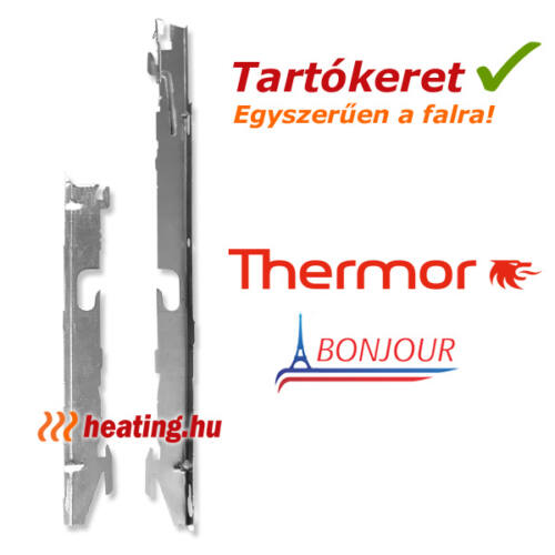 Elektromos radiátor fali tartókeret - konzol.