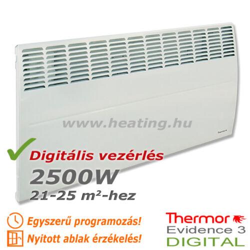 Evidence 3 DIGITAL HD elektromos radiátor 2500 W