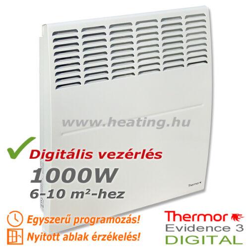 Evidence 3 DIGITAL HD elektromos radiátor 1000 W
