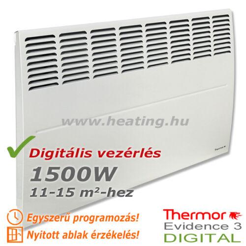 Evidence 3 DIGITAL HD elektromos radiátor 1500 W