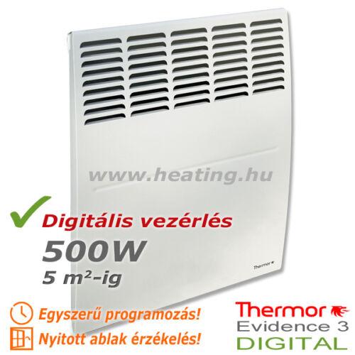 Evidence 3 DIGITAL HD elektromos radiátor 500 W