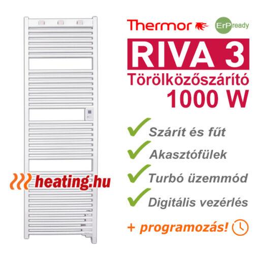 Thermor Riva 3 elektromos törölközőszárító.